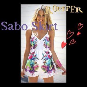 Sabo Skirt tropical Daintree playsuit